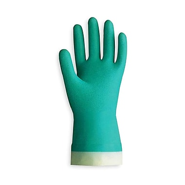 Showa Best Glove® Nitri-Solve® 730 Flock-Lined Nitrile Gloves, Size Group 7