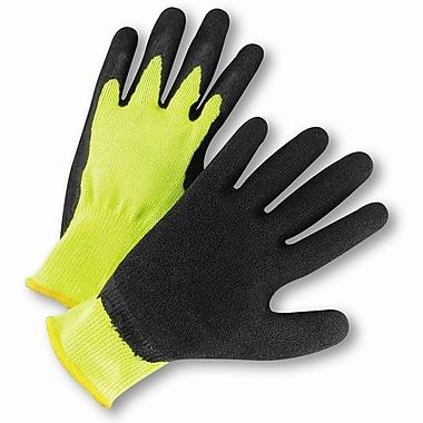 West Chester HVG700SLC Latex Green Hi-Vis Gloves, Large