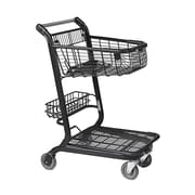 EXpress3500 Convenience Shopping Cart w/ Child Seat, Black
