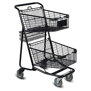 EXpress5050 Convenience Shopping Cart, Black