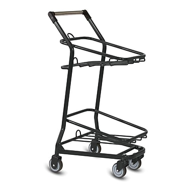 EZcart Shopping Cart, Metallic Gray