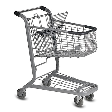 E-85 Traditional Shopping Cart, Metallic Gray