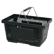 Wire Handle Hand Basket, 28 Liter, Red, 12 Baskets/Pack