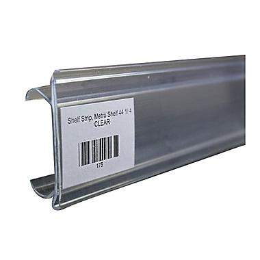 FFR Merchandising® Data Strip® Label Holder For Metro Shelving, 1 1/2