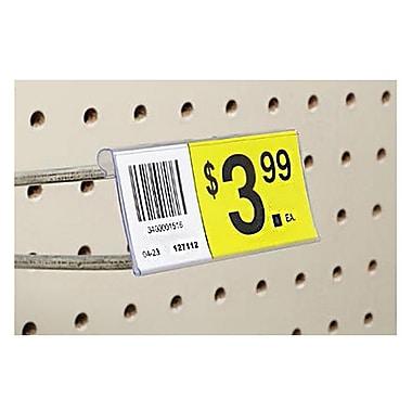 FFR Merchandising® Flip Data Strip® Label Holder For T-Scan Hook, 2