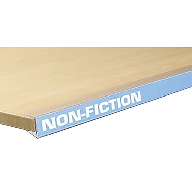 FFR Merchandising® Data Strip® Label Holder For Wood Shelving, 1 1/4