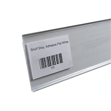 FFR Merchandising® Economy Self-Adhesive Data Strip® Label Holder, 3 1/2
