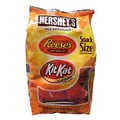 Hershey's Milk Chocolate Bar, Reese's, and Kit Kat Fun Size Variety Mix, 20.3 oz. Bag