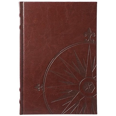 Eccolo™ Faux Leather Nautilus Journal, Brown