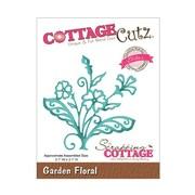 """CottageCutz® Elites 3.1"""" x 3.1"""" Universal Thin Die, Garden Floral"""