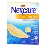 Nexcare® Active™ 1-1/16 x 3 Tan Waterproof Bandage, 30/Unit