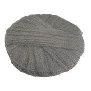 "Global Material 19"" #0 Radial Steel Wool Floor Pad, Gray"