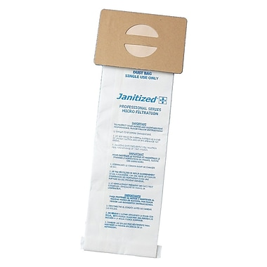 Janitized® Filter Bag For Nobles Lite Trac/Tennant Viper & Whirlwind/3220 Upright Vacuum Cleaner