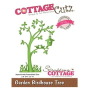 "CottageCutz® Elites 3.5"" x 2.4"" Universal Thin Die, Garden Birdhouse Tree"