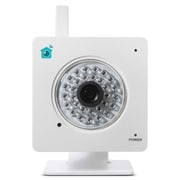 Y-Cam HomeMonitor YCHMI01BND Indoor Wireless Video Monitoring Camera, White
