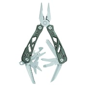 "Gerber Suspension Titanium Gray Stainless Steel Needlenose Multi-Plier in Box, 3 1/2"" Closed"