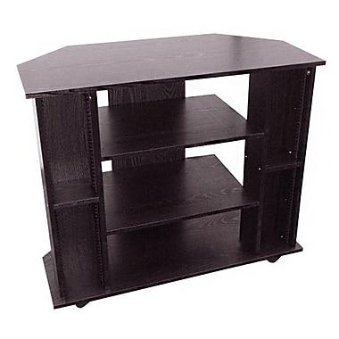 Ore International® Wood TV Stand, Black