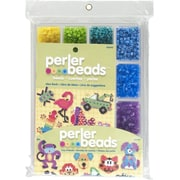 Perler® Tray of Beads With Idea Book, 4000 Pieces