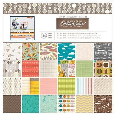 American Crafts™ Studio Calico Best Of Paper Pad, 12