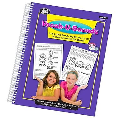 Super Duper® Vocab-U-Sounds™ Fun Sheets Book, Grades K - 5