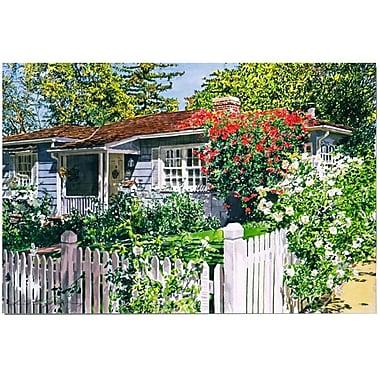 Trademark Fine Art 'Rose Cottage' 22