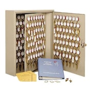 MMF Industries™ STEELMASTER® Dupli-Key® 390 Keys Two-Tag Cabinet, Sand