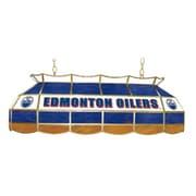 Trademark Global® 40 Stained Glass Lighting Fixture, NHL Edmonton Oilers