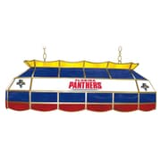 Trademark Global® 40 Stained Glass Lighting Fixture, NHL Florida Panthers