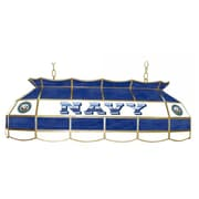 "Trademark Global® 40"" Stained Glass Lighting Fixture, U.S. Navy"