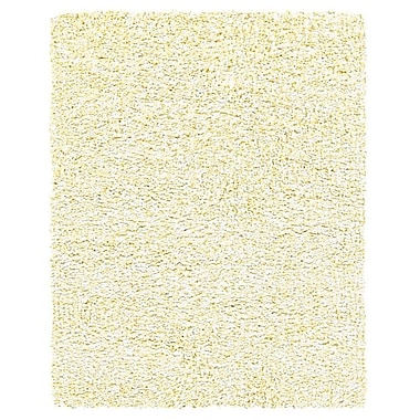 Feizy® Catarina Polyester Pile Transitional Rug, 5' x 8', Almond