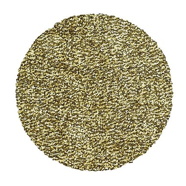 Feizy® Catarina Polyester Pile Transitional Rug, 8' x 8' Round, Khaki