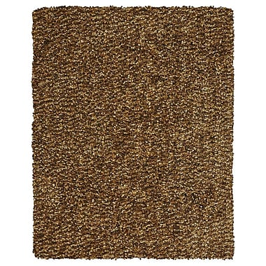 Feizy® Catarina Polyester Pile Transitional Rug, 5' x 8', Raisin