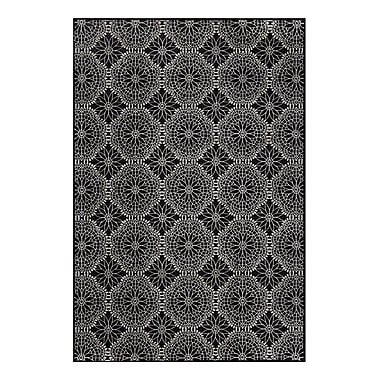 Feizy® Settat Wool and Art Silk Pile Traditional Rug, 2'10