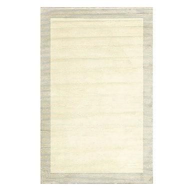 Feizy® Settat III Wool and Art Silk Pile Border Rug, 2'10