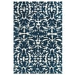 Feizy® Pia Polyester Pile Traditional Rug, 3'6in. x 5'6in., Midnight Blue
