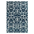 Feizy® Pia Polyester Pile Traditional Rug, 8' x 11', Midnight Blue
