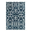 Feizy® Pia Polyester Pile Traditional Rug, 9'6in. x 13'6in., Midnight Blue