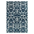 Feizy® Pia Polyester Pile Traditional Rug, 2'6in. x 8', Midnight Blue