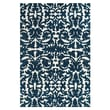 Feizy® Pia Polyester Pile Traditional Rug, 2' x 3', Midnight Blue