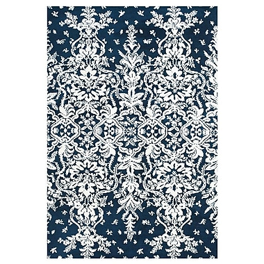 Feizy® Pia Polyester Pile Contemporary Rug, 2' x 3', Midnight Blue