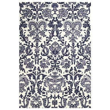 Feizy® Pia Polyester Pile Contemporary Rug, 2' x 3', Lilac/White