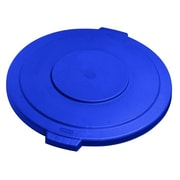 Carlisle 34105614, 55 gal Bronco Lid, 26.5 x 2.25, Blue