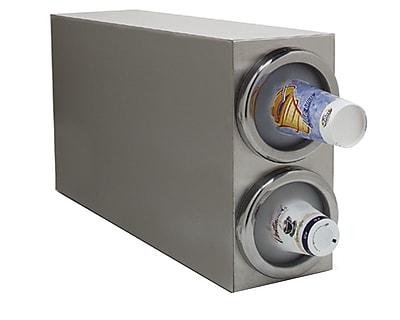 Carlisle 38882G, 2 Cup Dispenser, Vertical Cabinet Model 418200