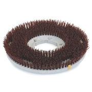 Carlisle 361800G70-5N, 18 D Brown Grit Concrete Floor Care Brush