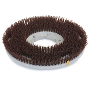 Carlisle 361700G70-5N, 17 D Brown Grit Concrete Floor Care Brush