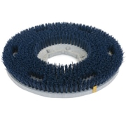 Carlisle 361400G35-5N, 14 D Blue Grit Cleaning Brush, Scrubbing