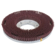 Carlisle 361350G22-5N, 13-1/2 D Red Grit Cleaning Brush, General Cleaning