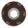 Carlisle 361300G70-5N, 13in. D Brown Grit Concrete Floor Care Brush