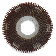 Carlisle 361300G70-5N, 13 D Brown Grit Concrete Floor Care Brush