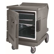 Cambro CMBH1826TR-194, 31 Half-Height Hot Food Holding Cabinet & Security Options - Camtherm, Granite Sand